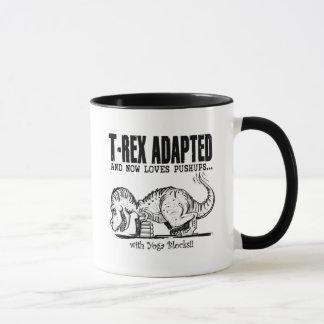 T-Rex Loves Pushups Mug