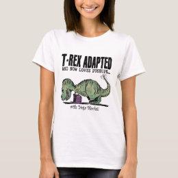 T-Rex Loves Pushups T-Shirt