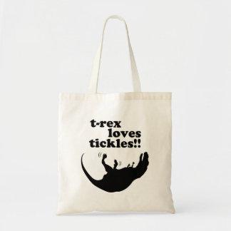 T-Rex Loves Tickles! Tote Bag