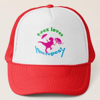 T-Rex Loves Tightropes! Trucker Hat