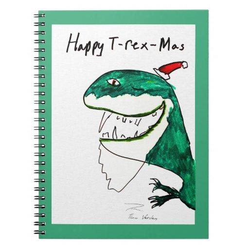 T-Rex-Mas Christmas Notebook