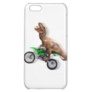 T rex motorcycle - t rex ride - Flying t rex Cover For iPhone 5C
