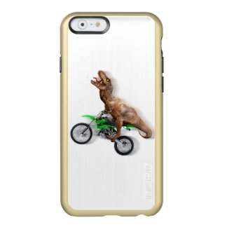 T rex motorcycle - t rex ride - Flying t rex Incipio Feather Shine iPhone 6 Case