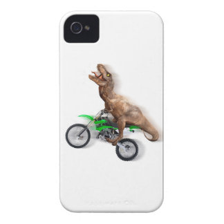 T rex motorcycle - t rex ride - Flying t rex iPhone 4 Cover