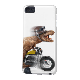 T rex motorcycle-tyrannosaurus-t rex - dinosaur iPod touch (5th generation) cover