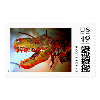 T-Rex Named Sue Postage Stamp