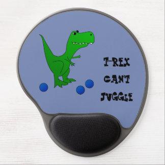 T-REX no puede hacer juegos malabares el mousepad Alfombrilla Con Gel