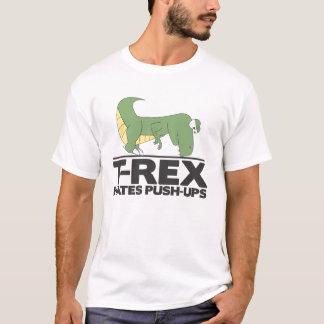 T-Rex odia la camisa de los pectorales