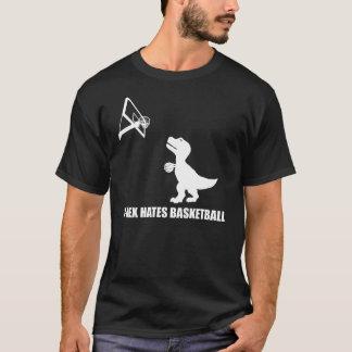 T-Rex odia la camiseta de la oscuridad del