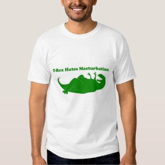 T-Rex odia la camiseta de Lite del Masturbation Remera