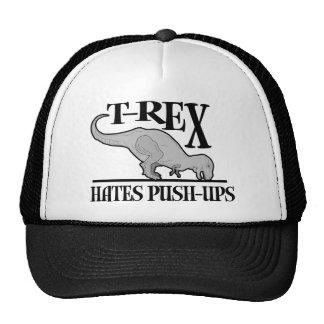 T-Rex odia los pectorales $18,95 Gorro De Camionero