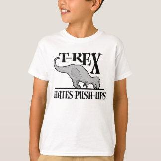 T-Rex odia pectorales $20,95 niños Playera