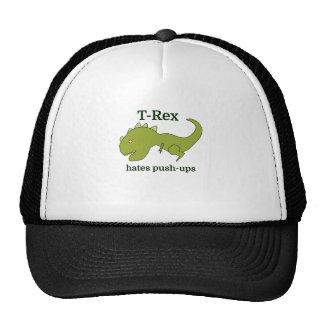 T-Rex odia pectorales Gorras