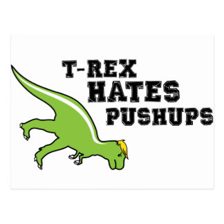T-rex odia pectorales postal