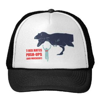 T-Rex odia pectorales y el gorra de la mofa