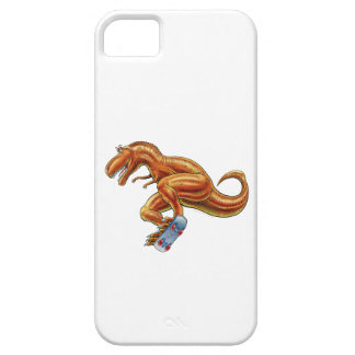 T.rex on Skateboard iPhone 5 Covers