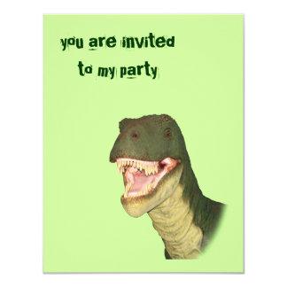T-Rex Party Invitation
