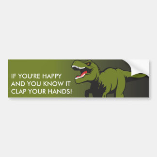 T-Rex Personalized items Bumper Sticker