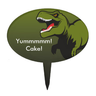 T-Rex Personalized items Cake Topper