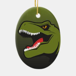 T-Rex Personalized items Ceramic Ornament