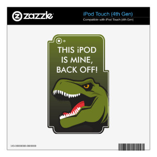 T-Rex Personalized items Skin For iPod Touch 4G