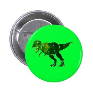 T-Rex Pin Redondo De 2 Pulgadas