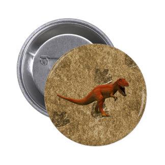 T Rex Pinback Button