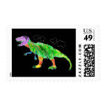 T-Rex Postage Stamps