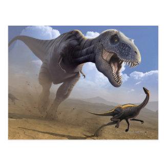 T Rex Post Cards