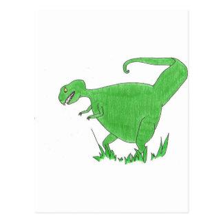 T Rex Postcard