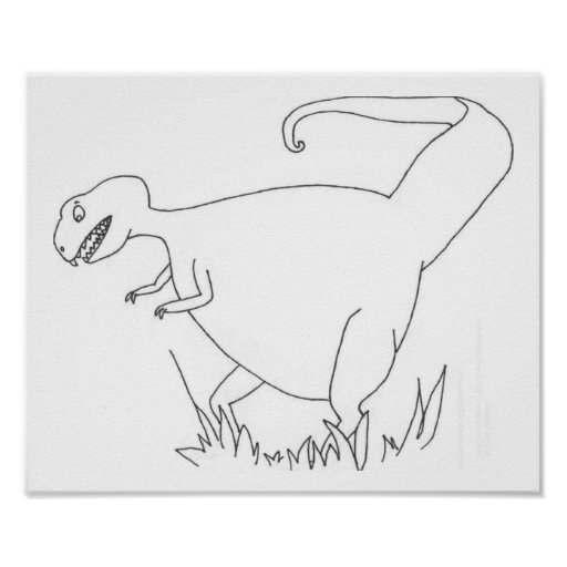 T Rex Posters
