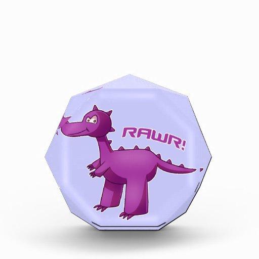 T-Rex púrpura