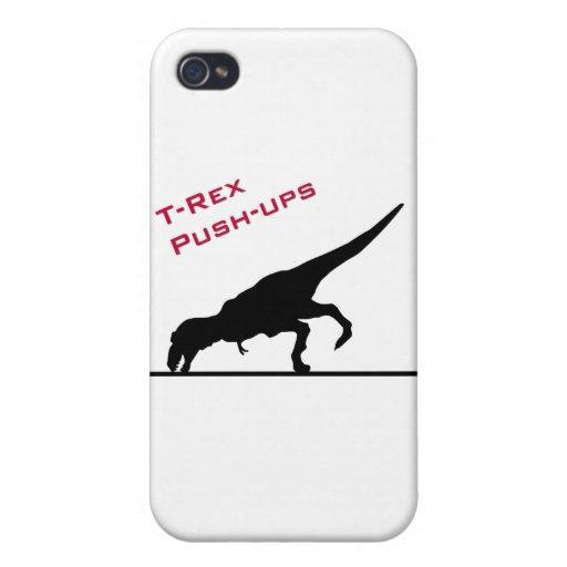 T-Rex Push-ups iPhone 4/4S Cover