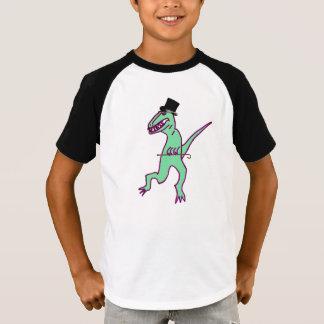 T rex Puttin' on the Ritz T-shirt