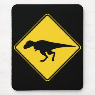 T-Rex que cruza Mousepad
