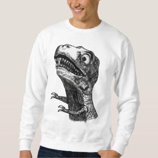 T-Rex Rage Meme - 2-sided Sweatshirt