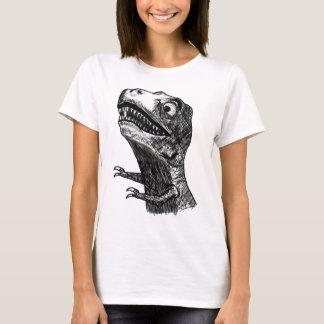T-Rex Rage Meme - Ladies Spaghetti T-Shirt