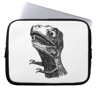 T-Rex Rage Meme - Laptop Sleeve