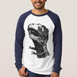 T-Rex Rage Meme - Long Slee T-Shirt