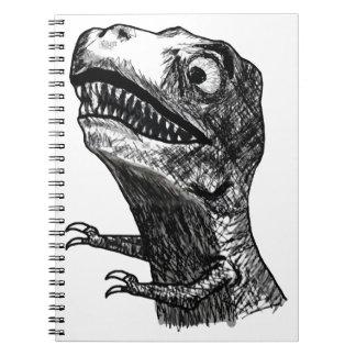 T-Rex Rage Meme - Notebook