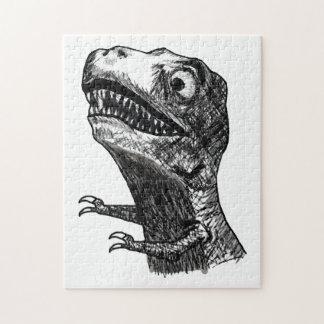 T-Rex Rage Meme - Puzzle