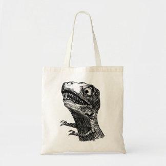 T-Rex Rage Meme - Tote Bag