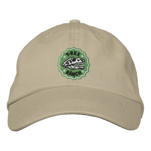 T_Rex Ranch Embroidered Hat