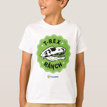 T-Rex Ranch Kids T-Shirt with Dinosaur