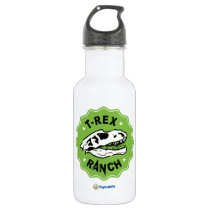 T-Rex Ranch Water Bottle with Dinosaur