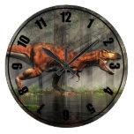 T-Rex Reloj Redondo Grande