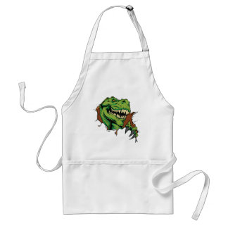 T Rex Rips Adult Apron