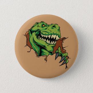T Rex Rips Button