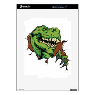 T Rex Rips iPad 2 Decals