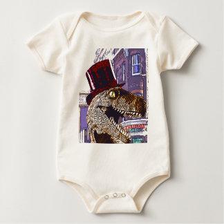T-rex Ritz Baby Bodysuit